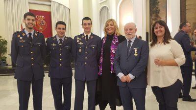 Nuestro compañero José Luis recibe la Cruz del Mérito Aeronáutico