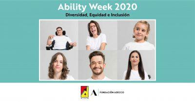 Ability Week 2020:  Diversidad, Equidad e Inclusión
