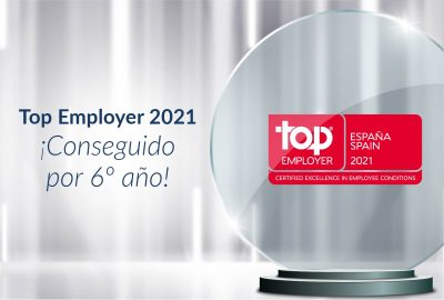 ALTEN SPAIN es certificada como Top Employer 2021